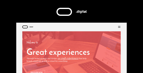 O Digital - Creative Portfolio Muse Template - Creative Muse Templates
