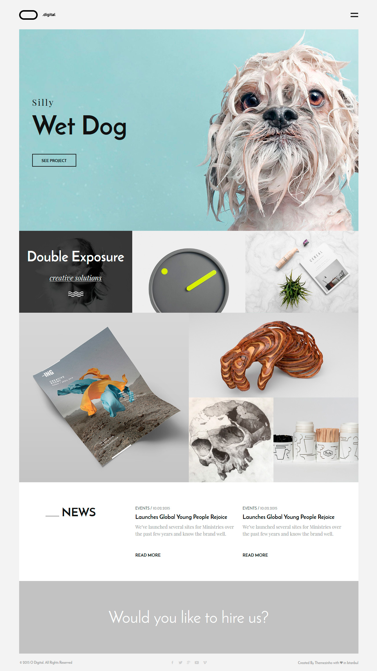 O Digital Creative Portfolio Muse Template By DEVThemes ThemeForest - Digital portfolio template