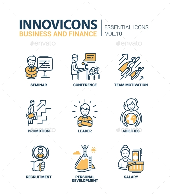 Business Icons Set - Business Conceptual