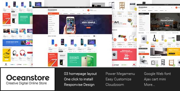 OceanStore – Multipurpose Responsive WooCommerce Theme