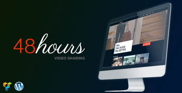 48Hours | Video Sharing Responsive WordPress Theme - Film & TV Entertainment