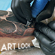 The Process of Tattoo - VideoHive Item for Sale