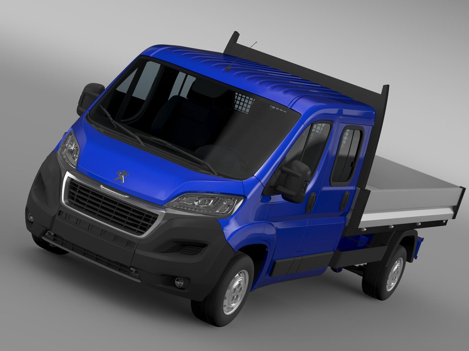 Peugeot Boxer  Crew Cab Truck 2016
