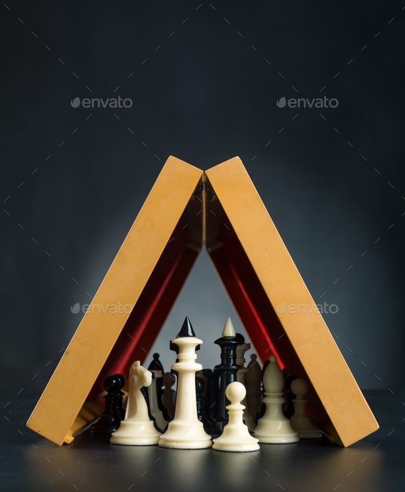 Chess figures - Stock Photo - Images