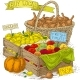 Fruits and Vegetables For Sale - GraphicRiver Item for Sale