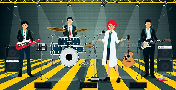 Bands in Suit - Miscellaneous Conceptual