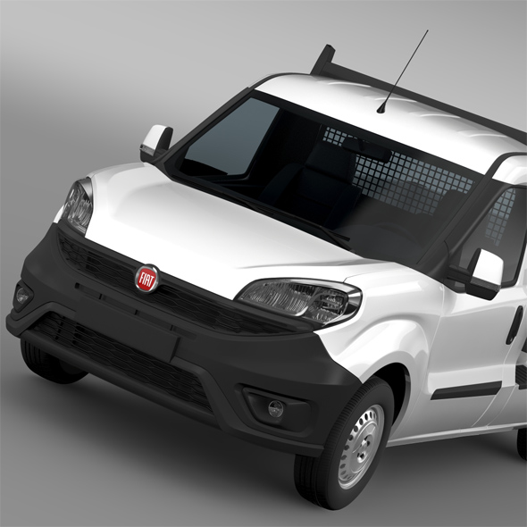 Fiat Doblo Work Up (263) 2016 - 3DOcean Item for Sale