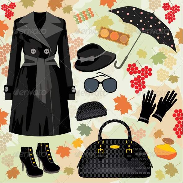 Autumn Fashion Set - Commercial / Shopping Conceptual