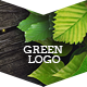 Green Natural Logo Reveal - VideoHive Item for Sale