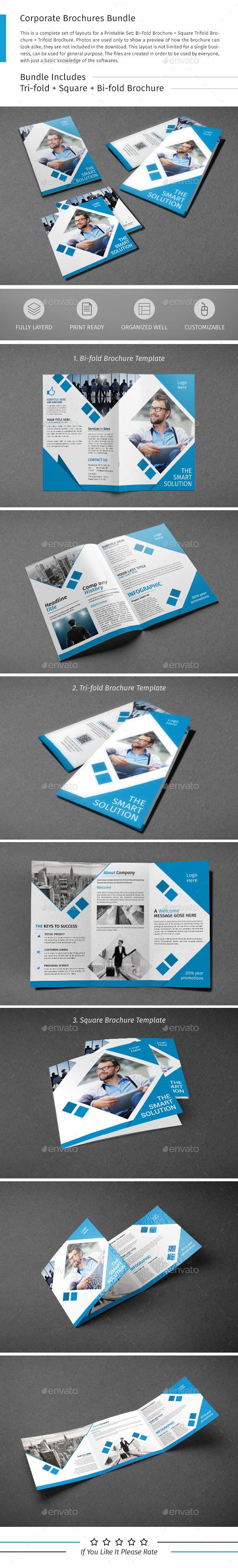 Brochure Bundle 01 - Corporate Brochures