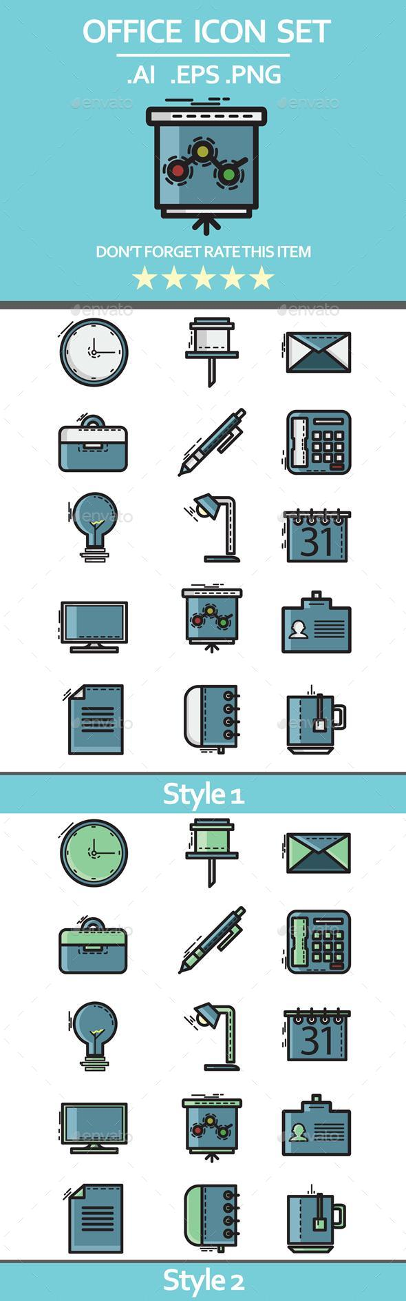 Office Icon - Business Icons