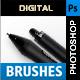 Digital Brushes - GraphicRiver Item for Sale
