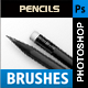 Pencil Brushes - GraphicRiver Item for Sale