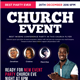 By Faith Church Flyer - GraphicRiver Item for Sale
