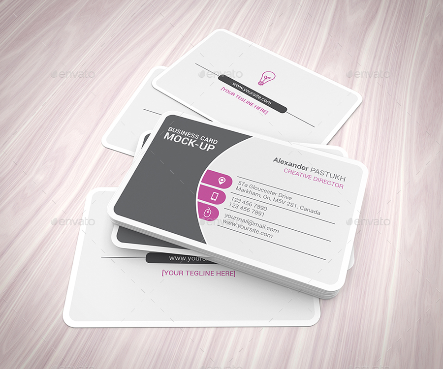 Business Card Mock-Ups by StreetD | GraphicRiver