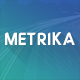 Metrika - Colorful Powerpoint Presentation - GraphicRiver Item for Sale