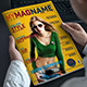 3 Magazine Cover Pages 3 Colors Nulled