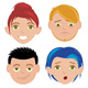 Cartoon People Emotion Set - GraphicRiver Item for Sale
