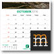 2016-2017 Wall Calendar - GraphicRiver Item for Sale