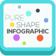 Pure Shape Infographic - GraphicRiver Item for Sale