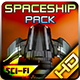 Spaceship Pack 25 - GraphicRiver Item for Sale