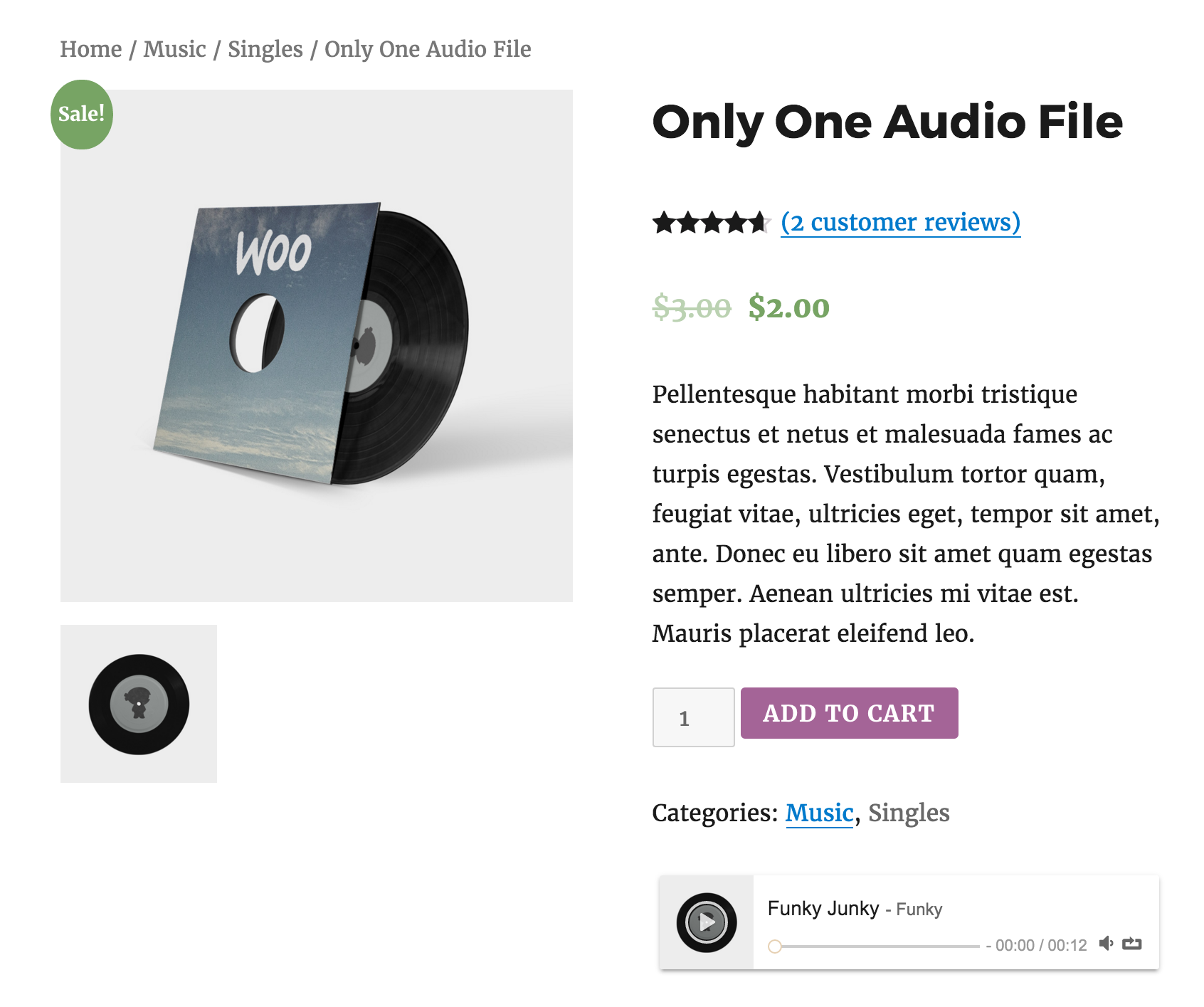 Koplo - WooCommerce Product Audio Sample Player by jogjascript ...