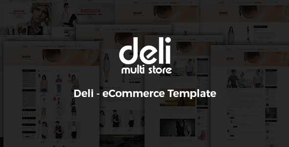 Deli - eCommerce HTML Template - Fashion Retail