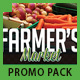 Farmer's Market Print Promotion Bundle Pack - GraphicRiver Item for Sale