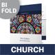 Church Bifold / Halffold Brochure 3 - GraphicRiver Item for Sale