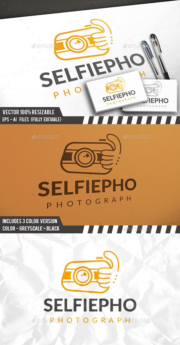 Selfie Photo Logo - Objects Logo Templates