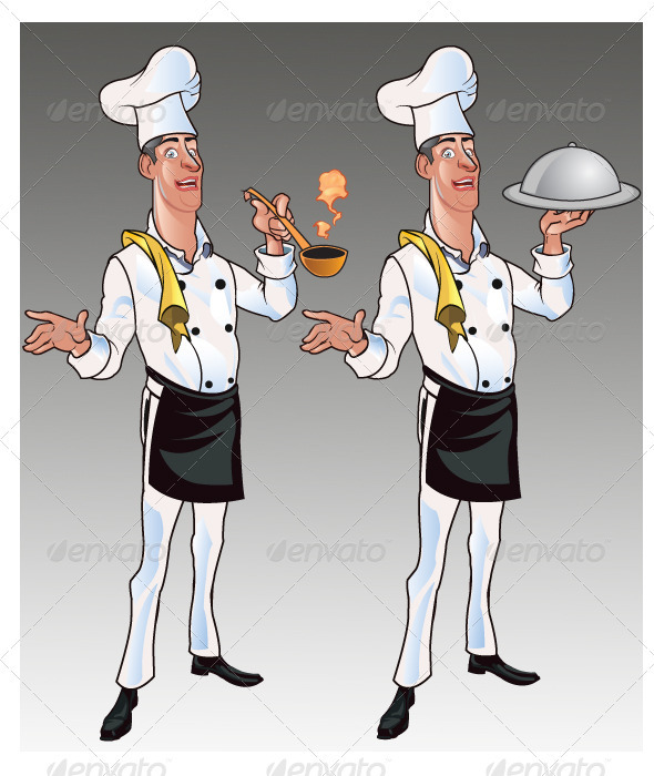 Chef Cartoon - People Characters