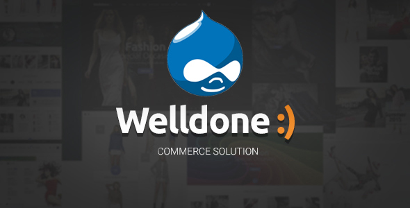 Welldone - Drupal Commerce Theme - Retail Drupal