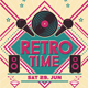 Retro Time Flyer - GraphicRiver Item for Sale
