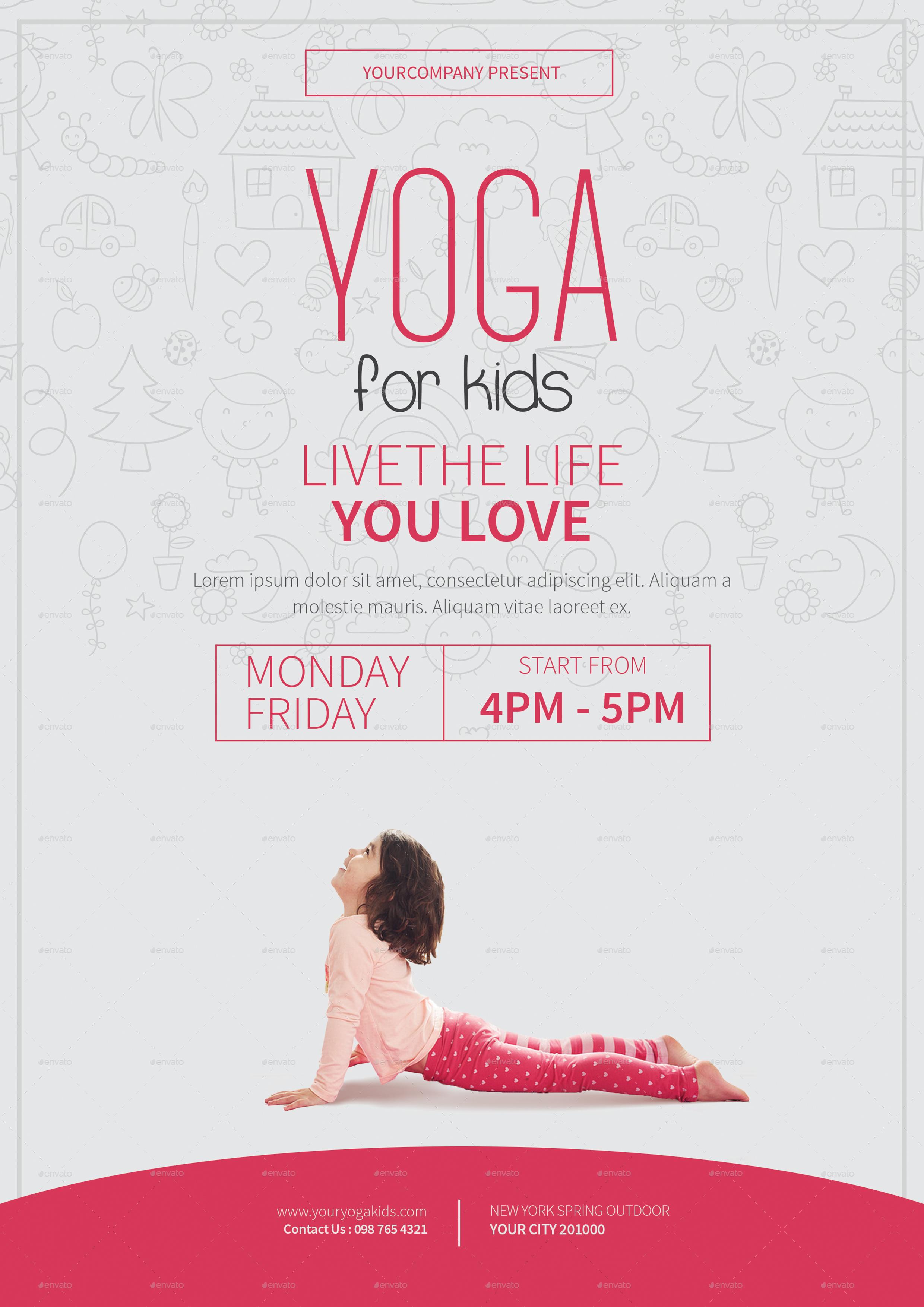 yoga brochure design - Gidiye.redformapolitica.co