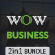Wow Business PowerPoint Template Bundle  - GraphicRiver Item for Sale
