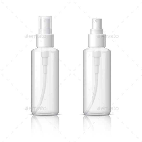 Cosmetic Glass Bottle Can Sprayer Container - Retail Commercial / Shopping