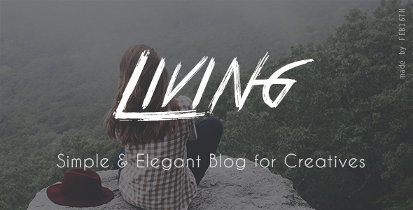 Living – Simple & Elegant blog for Creatives