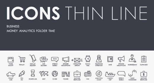 Thinline icons