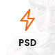 Flash – One Page Creative Multipurpose PSD Template Nulled