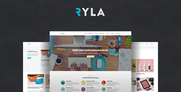 Ryla – Multipurpose Single/Multi Page WordPress Theme