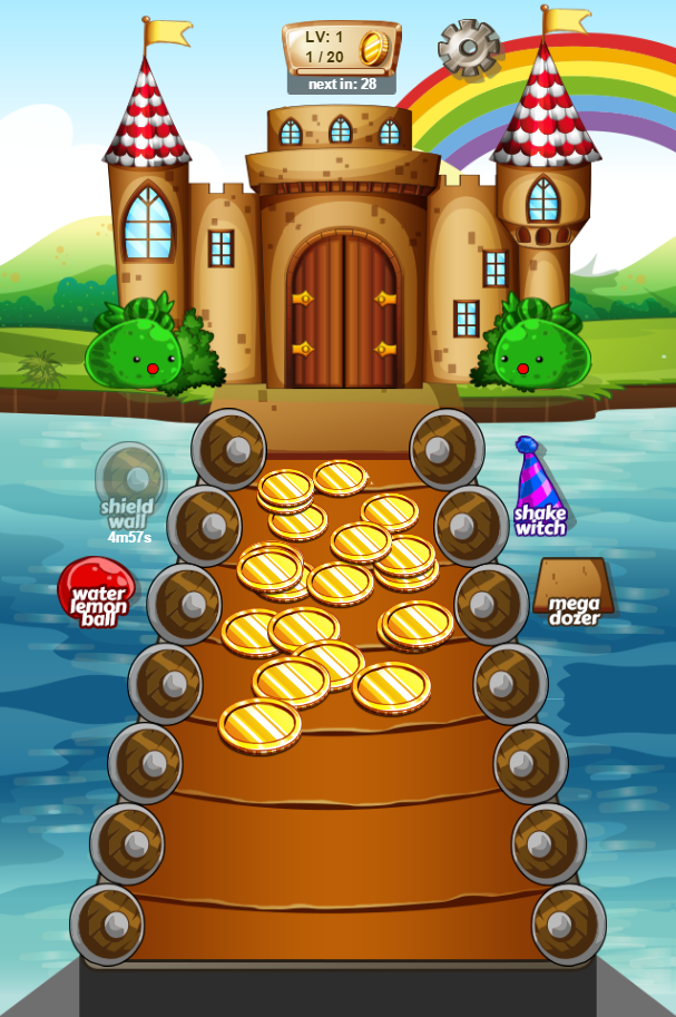 Image Magical Castle Coin Dozer