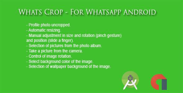 Whats Crop - No Crop Photo Android - CodeCanyon Item for Sale