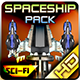 Spaceship Pack 26 - GraphicRiver Item for Sale
