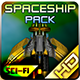 Spaceship Pack 27 - GraphicRiver Item for Sale