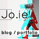 Jo.ie — Multipurpose, Personal & Studio Portfolio, Blog PSD Template Nulled