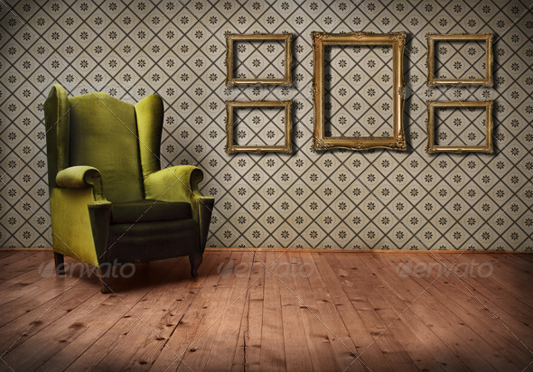 vintage Room - Stock Photo - Images