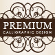 Premium Calligraphic Design Set - GraphicRiver Item for Sale