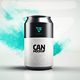 Can Mock-up / Drink Soda 330 ml - GraphicRiver Item for Sale