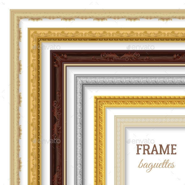Frame Baguettes Set - Man-made Objects Objects