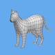 cat 1 low poly 3D Model - 3DOcean Item for Sale